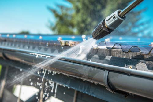 gutter cleaning ascot